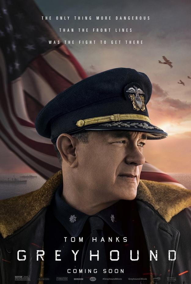 USS Greyhound - affiche