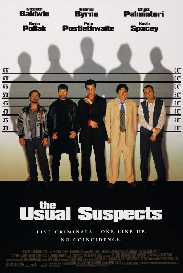 Usual Suspects - affiche