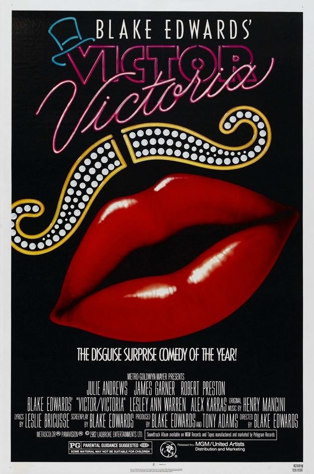 Victor Victoria - affiche