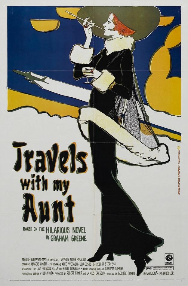 Voyages avec ma tante - affiche