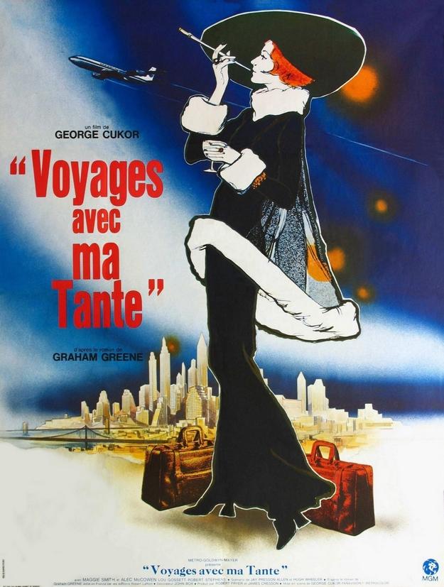 Voyages avec ma tante - affiche française