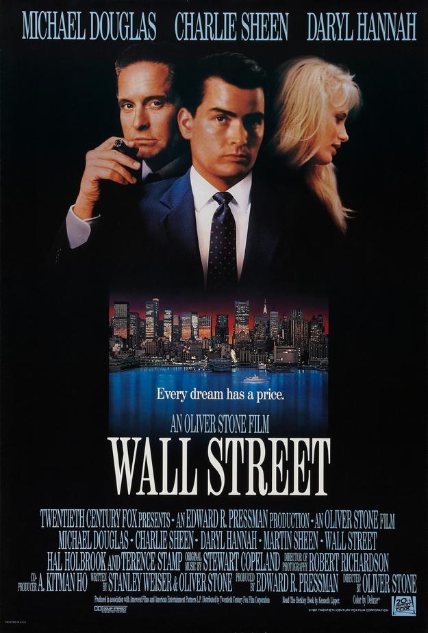 Wall Street - affiche