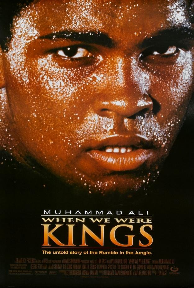 When we were kings - affiche