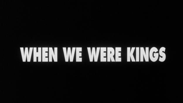 When We Were Kings - générique