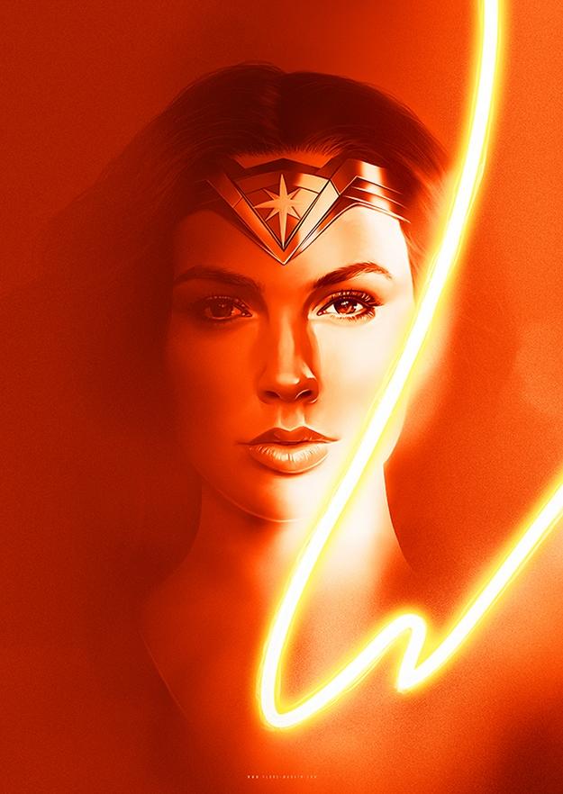 Wonder Woman - Flore Maquin
