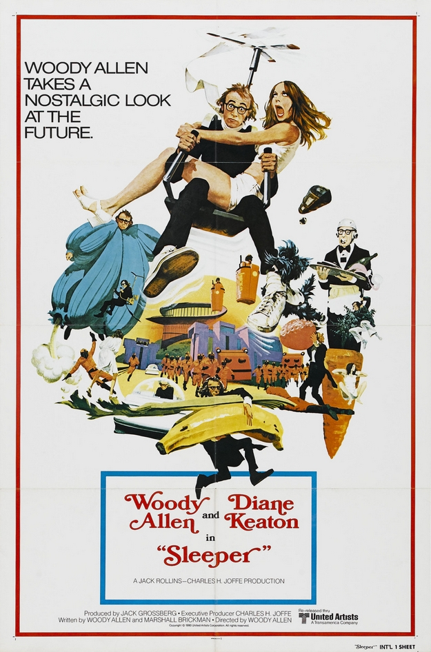 Woody et les robots - affiche