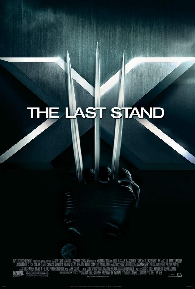 X-Men l'affrontement final - affiche