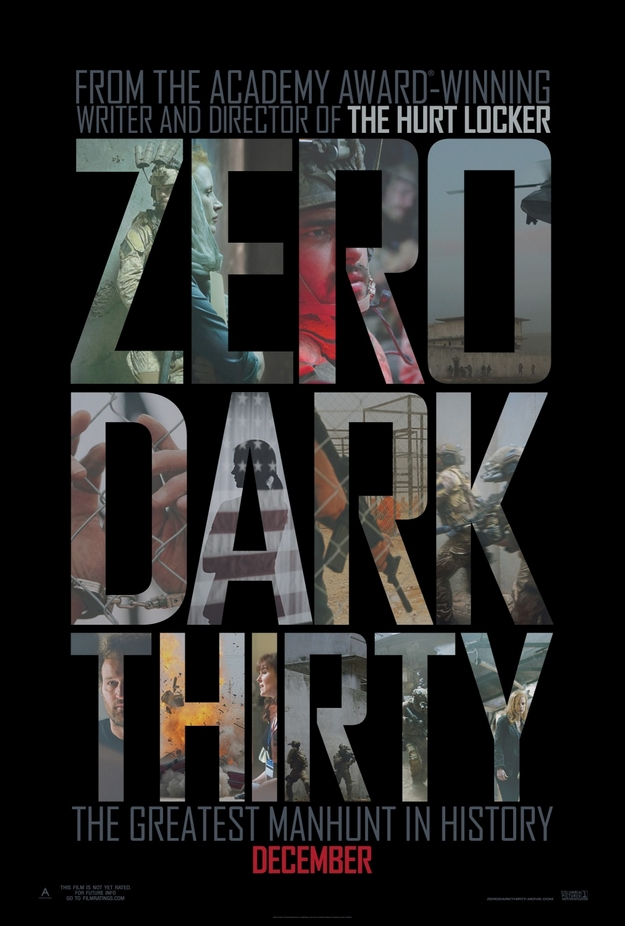 Zero Dark Thirty - affiche