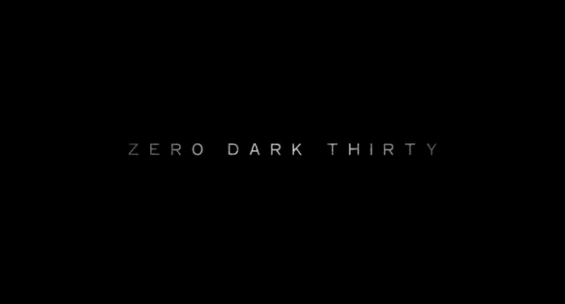 Zero Dark Thirty - générique